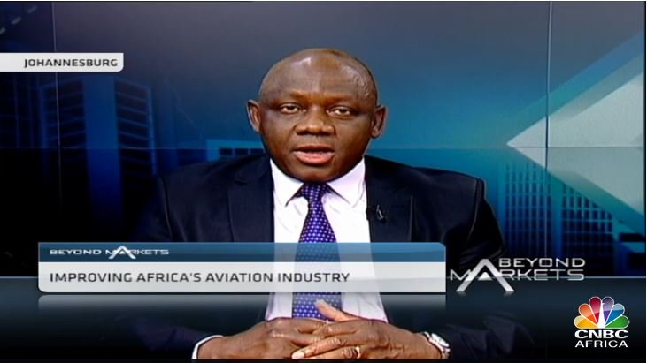 .@cnbcafrica talked to our Regional VP about African aviation development