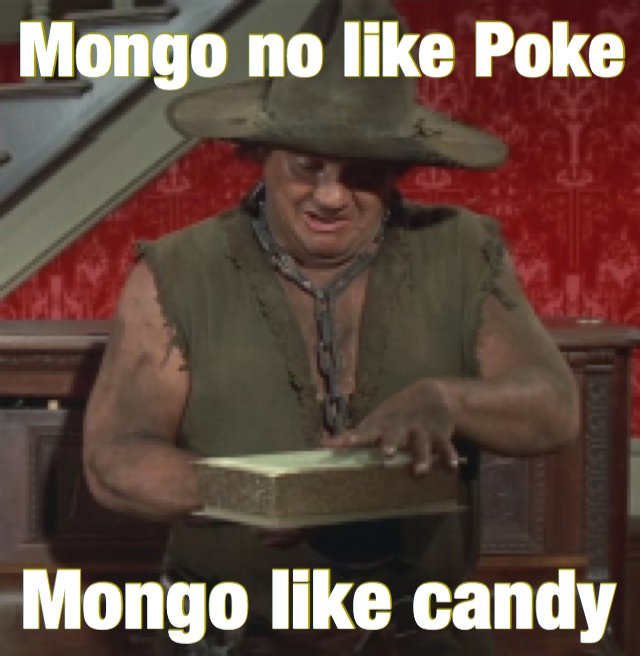 Everyone's going on about #PokeMongo haven't they seen @melbrooks's #blazingSaddles?! https://t.co/SwUVdAzx93