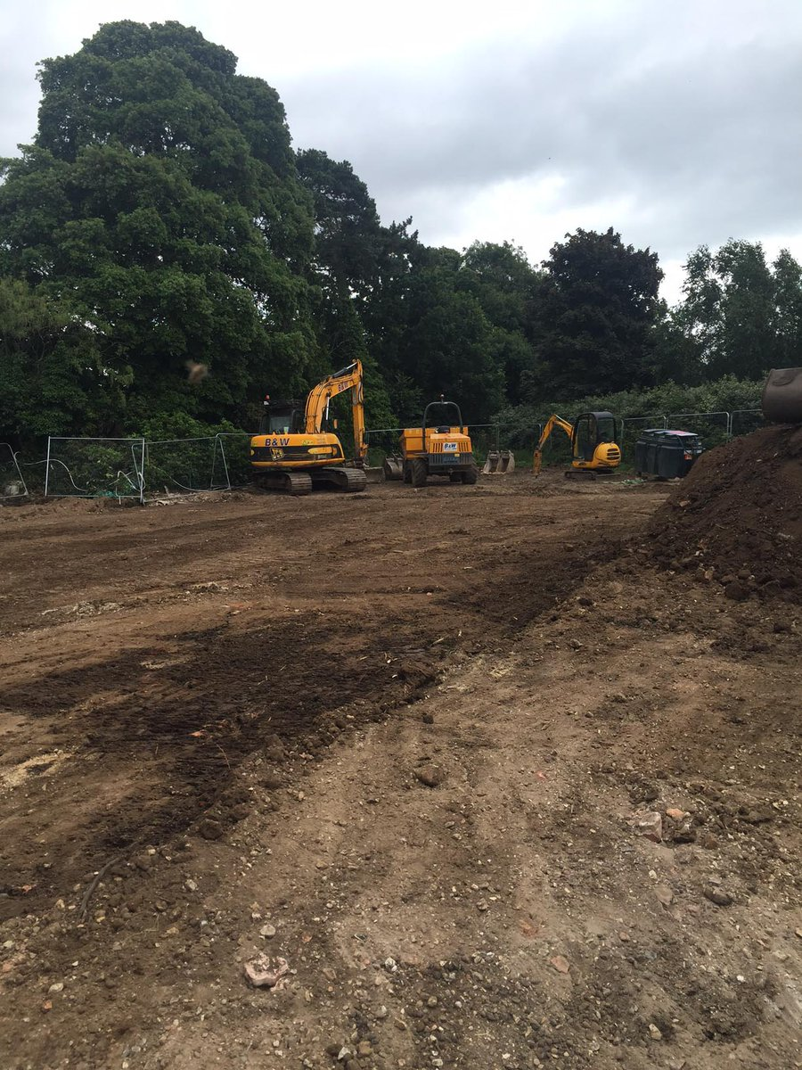 The ground has now been cleared for our new Cookery School, keep an eye on here for regular updates! #FridayFeeling https://t.co/Az7Asa7yRh