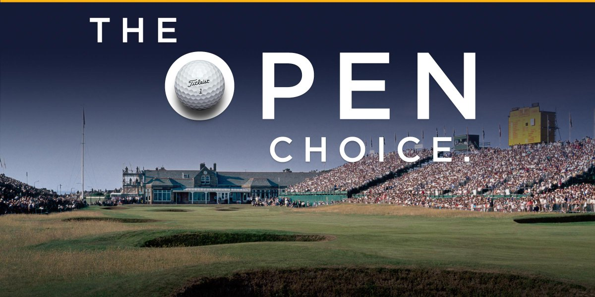 Titleist is The Open Choice. The #1 ball at the 145th #TheOpen and since records have been kept. #1ballingolf https://t.co/wWwtchG9LS