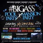 #BigASSPoolParty TOMORROW  - Outdoor + indoor party. - Arcade Room + Full bar. - 10 min from stonecrest.   https://t.co/sZdEulHJKA x6