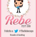 @therebecups !!!! Felices 27!!!! #Rebe27Fest empiezan los festejos!!! https://t.co/NE85L1B9lY
