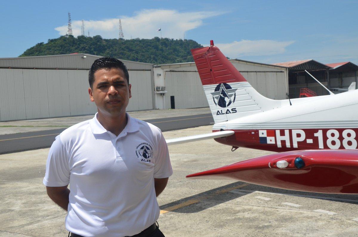 Hoy estuvimos en la Academia de Pilotos ALAS conociendo su formación de Clase Mundial
