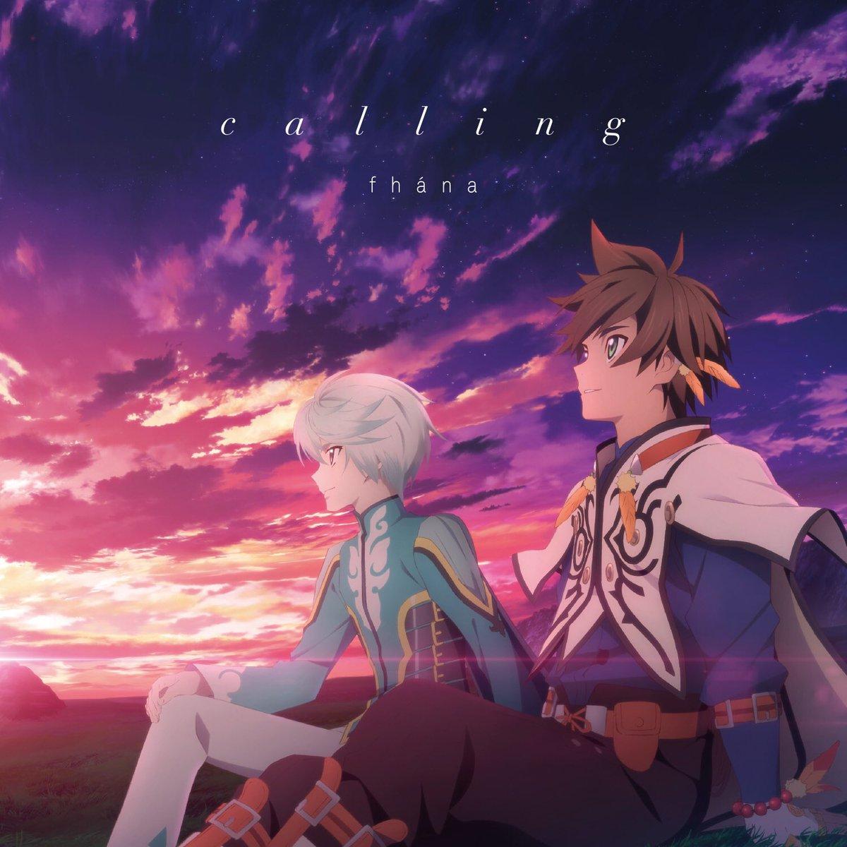 『calling』店着日。cw/はアーティスト盤はRelief (Japanese ver.)。アニ…