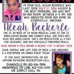 my cousin Aleah is still missing. if you have any information please call EPD. https://t.co/MghiM9LhT6