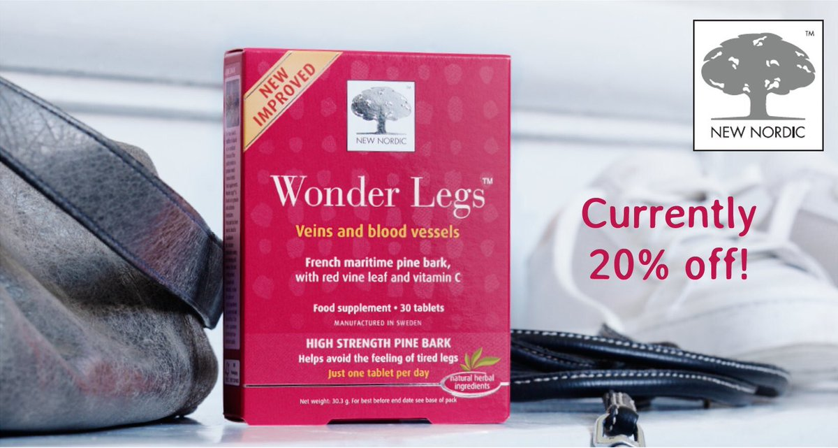 Jetting off on holiday? @NewNordicUK Wonder Legs help avoid the feeling of tired legs after your flight! https://t.co/Te0kcjyygy