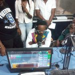 Live in the studio of @LibertyRadio917 is @adekunleGOLD humble man I must say... https://t.co/YP3LO6pWTx