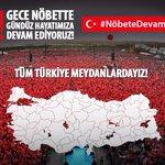 #NöbeteDevam Sn. Cumhurbaşkanımızın, BAŞKOMUTANIMIZIN 2. talimatına kadar NÖBETE DEVAM.. Haydi Trabzon https://t.co/wUbjaGEy1n