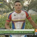 #VideoVTV | ESPECIAL: Ciclista Hersony Canelón cuenta a VTV sus metas rumbo a Río2016>>https://t.co/Ozbssbo1Sg https://t.co/PZN9K04DtZ