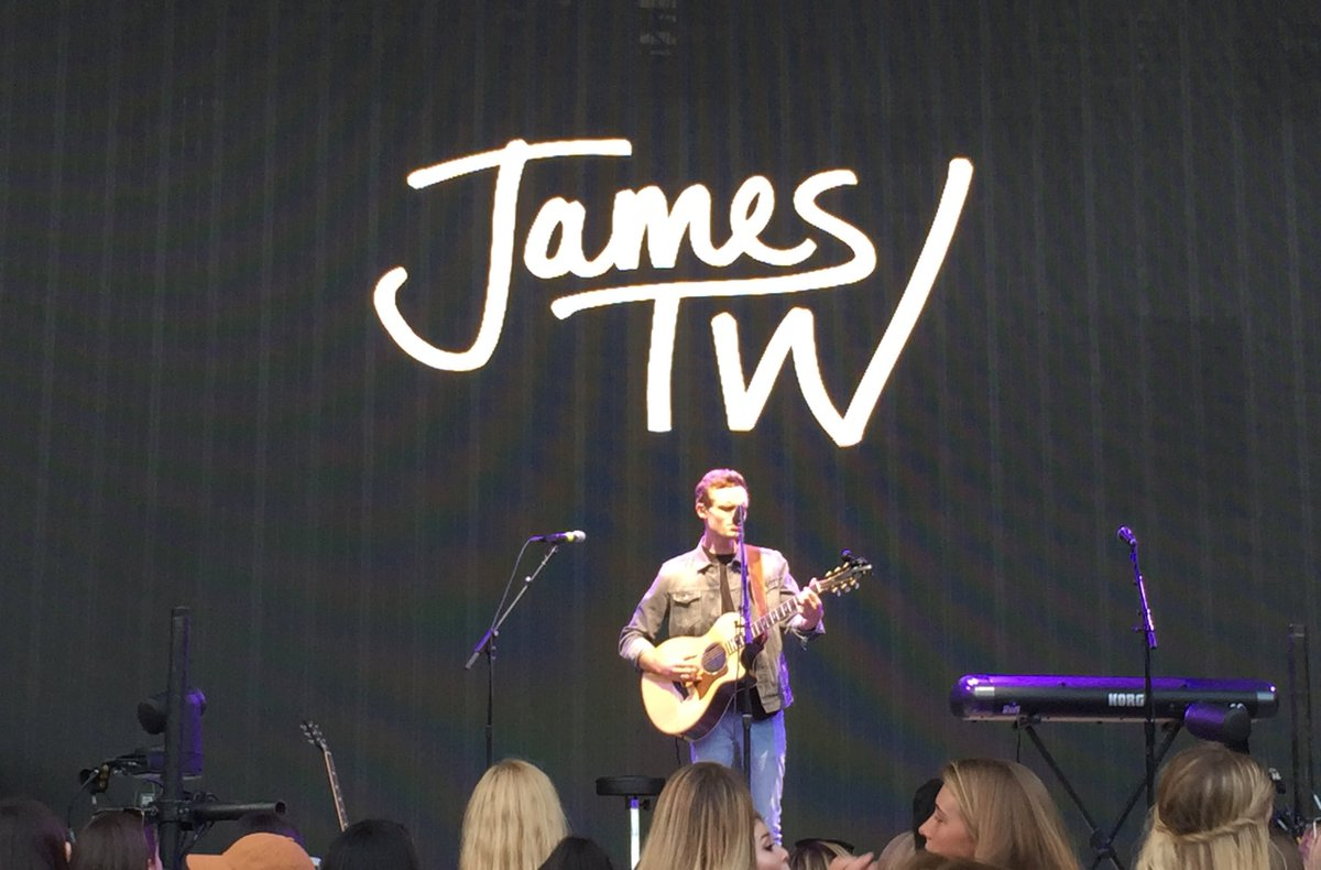 Thanks @JamesTWmusic you're great! https://t.co/ETWNloFpZG
