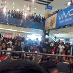 Crowd as of now. We cant wait to see you @imdanielpadilla! 😊 DJP MyPhoneKaTropaMT #PushAwardsKathNiels https://t.co/Vg2cQhosa9