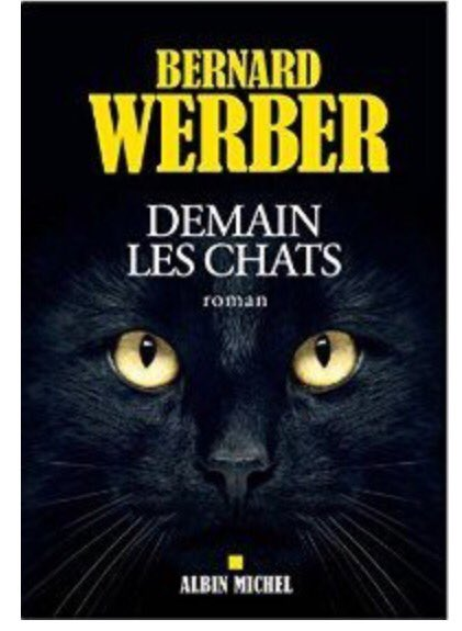 "Donc la couverture de ""Demain les chats"" qui sortira le 5 octobre https://t.co/tVlrqqGIfT"
