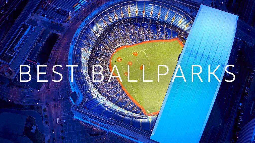 They sure look stunning from above, but see what else makes the top 7 ballparks stand out.
