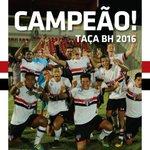 O @SaoPauloFC é CAMPEÃO da Taça Belo Horizonte Sub-17! 4 a 1 no Palmeiras! #Parabéns, #MadeInCotia! #IssoÉSãoPaulo! https://t.co/vTabwQROPD