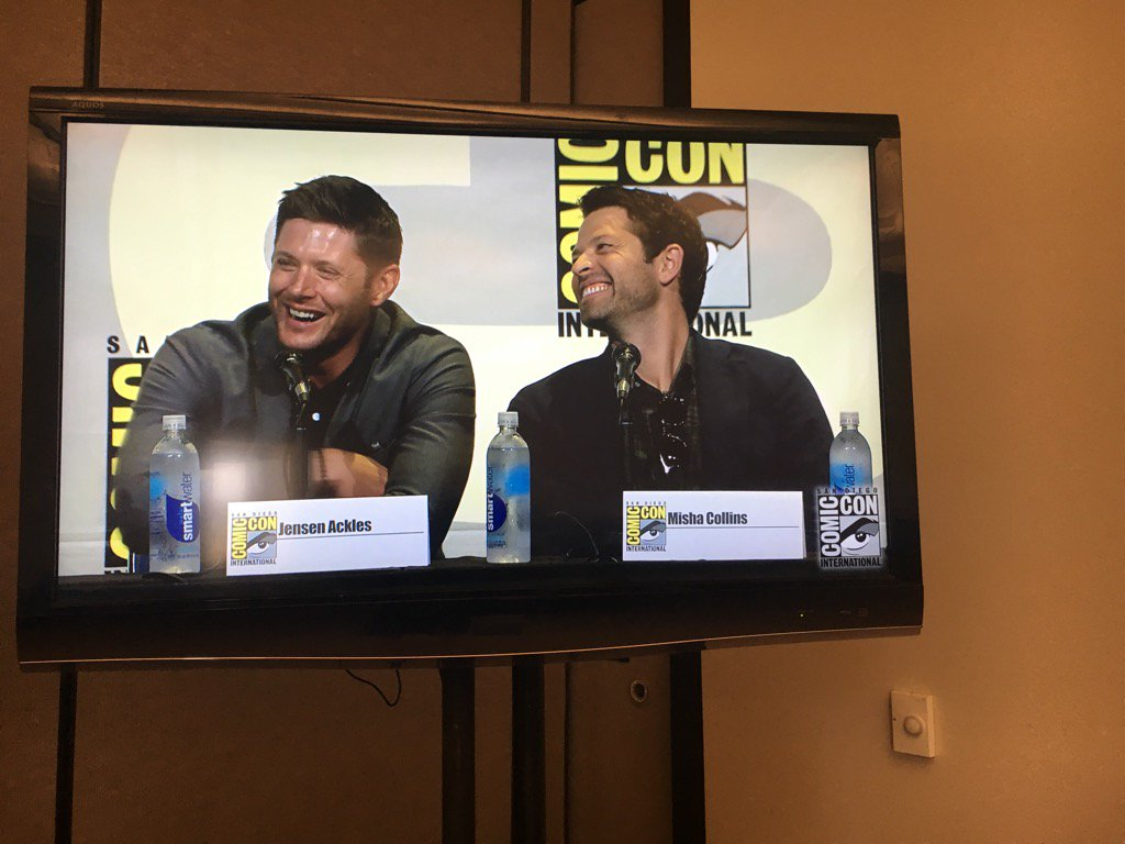 #Supernatural panel at Comic Con https://t.co/XArMsJdUzr