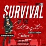 #SurvivalOfTheLittest 8/19 @ShakersNiteclub | LADIES $5 + $1 SHOTS ALL NIGHT RT #UL20 https://t.co/RvndA9gsN6 @itsjust_anyse