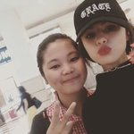 Photo: Selena with fans at Shu Uemera at KLCC today in Malaysia! She was shopping for makeup. https://t.co/kLKfPlBuU5