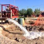 Aforando el pozo de agua #LasLuisas que pronto entrará en funcionamiento para beneficio del sector sur #Torreón https://t.co/JbRtdT0Yci