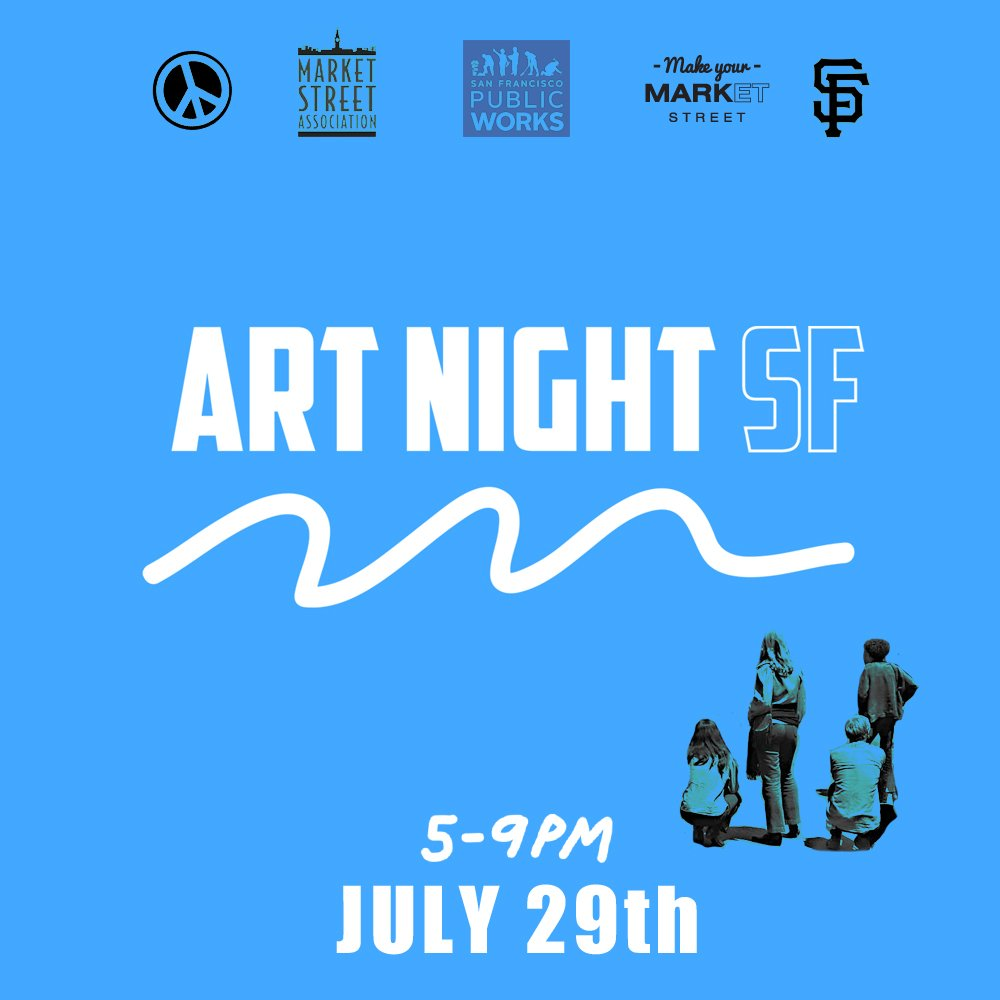 Are you ready for Friday's #ArtNightSF? Full bar, fun activities, performances, and more! https://t.co/Lg3cHryxII https://t.co/cXRLguxwLV