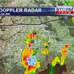 Storms now reaching SW Lafayette on Ambassador Caffery. Lightning in Milton. Lafayette expect storms over next hour https://t.co/H6wxuxrbmO