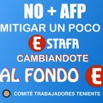 Vamos Chile #NOMasAFPs a rallar billetes, a pintarlo todo con NO+AFP y a cambiarse ahora al Fondo E https://t.co/5VRpYiEu2A