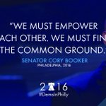 Yes, @corybooker. YES. #DemsInPhilly https://t.co/UwOb2sifew