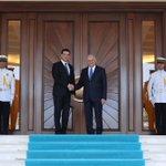Başbakan Yıldırım, KKTC Başbakanı Hüseyin Özgürgünü Çankaya Köşkünde resmi törenle karşıladı. https://t.co/XtqUdlP5Tb