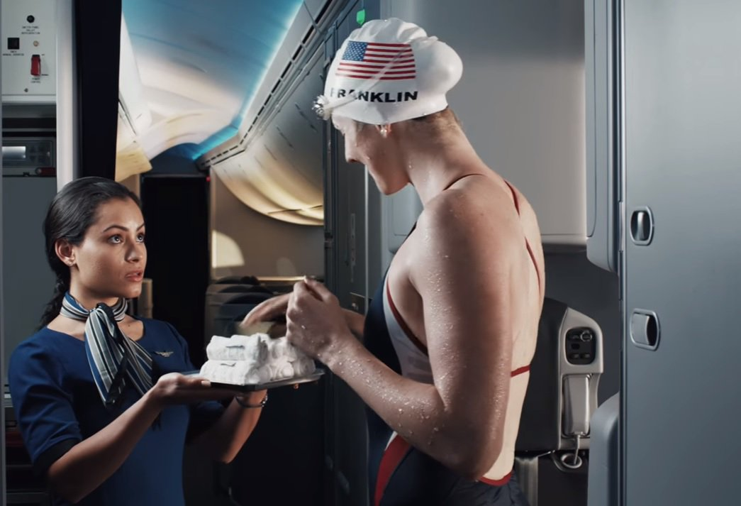 RT @TodayInTheSky: United puts Team USA front and center in new Olympics -