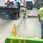 Estamos trabajando recuperación de la vía sobre Calle Martí. https://t.co/BtBkmd98IJ #Guatemala #traficoGT #zona6 https://t.co/SNNPhiO8tN