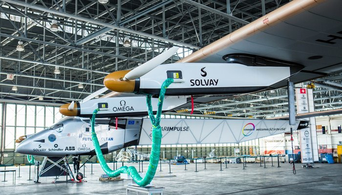 .@solarimpulse can be an inspiration for the next phase in aviation industry, - Tony Tyler