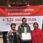 @CLOPEZanalista misión cumplida: Ya radicamos el proyecto que #ReduceSalarios a Congresistas y altos cargos https://t.co/CjjqIJovRX