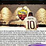 Francesco Totti sobre el fichaje de Higuain. Clase pura de Il Capitano. 👏🏽⚽️ https://t.co/TxzoktCOOm