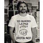 """Juanes repudia fotomontaje en el que apoya el """"no"""" a la paz. https://t.co/NSF3utdokv https://t.co/B4iTfvgoAV"""
