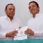 En estos momentos entrego a @Jesus_ZambranoG, los proyectos que tienen como objetivo transformar Quintana Roo. https://t.co/2E7LrEl7NB