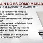 Totti, sin pelos en la lengua sobre el pase de Higuaín a la Juventus. https://t.co/aJDl6pVHMq