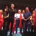 Türkiyenin sanatçıları Antalya demokrasi nöbetimizin misafiriydi. Hepsine teşekkür ediyorum @gezegen_mehmet https://t.co/nRbLgFfJ1G
