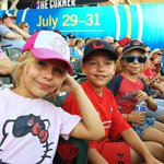 Our tribe at the Tribe game. #TribeTown https://t.co/oATXyODKxu