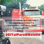 Los criminales están en La Habana y aquí están los colombianos trabajadores q reclaman diálogo #ElTalParoSíExistió https://t.co/pJxFniBuZm