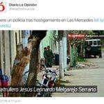 Hoy asesinan a otro policía de la Patria https://t.co/WR98DpUILj