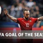 UEFA abre votação para eleger o golo do ano. Ricardinho é o único candidato fora do futebol https://t.co/Znwker6ZxV https://t.co/UibJC1CRY8
