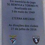 Hoje é mais que um jogo, é recordar o passado #CarregaBenfica #BenficaTorino https://t.co/jT0FNKPn8T