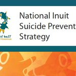 We are proud to launch the National Inuit Prevention Strategy today. Read more here: https://t.co/uZ5p2lWQG5 #NISPS https://t.co/vzkVUEblE7