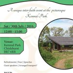 #Croydon Join us on Saturday 30 July for a tour of Kemnal Park - includes refreshments. Transport can be arranged https://t.co/tuUQWEosIL