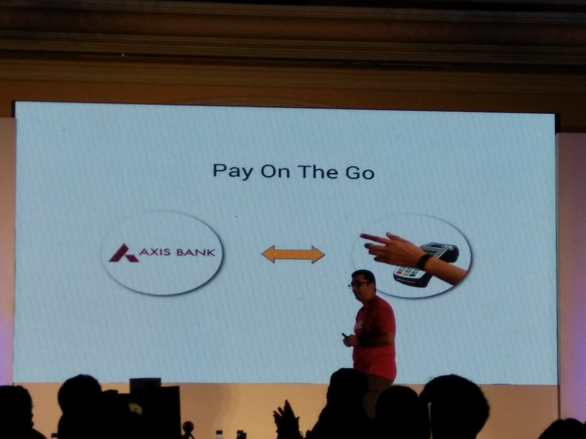 .@GOQiiLife Band 2 will come with NFC support to help with wireless payments. @AxisBank is the first partner bank https://t.co/L8J06tw0mS