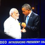 Indian PM @narendramodi makes it into @POTUS intro video at #DNCinPHL https://t.co/0ag4Qy2Kuy