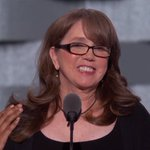 """Christine Leinonen: """"It was in his DNA that love always trumps hate."""" Crowd chants """"Love trumps hate!"""" https://t.co/FPZhpXo3br"""