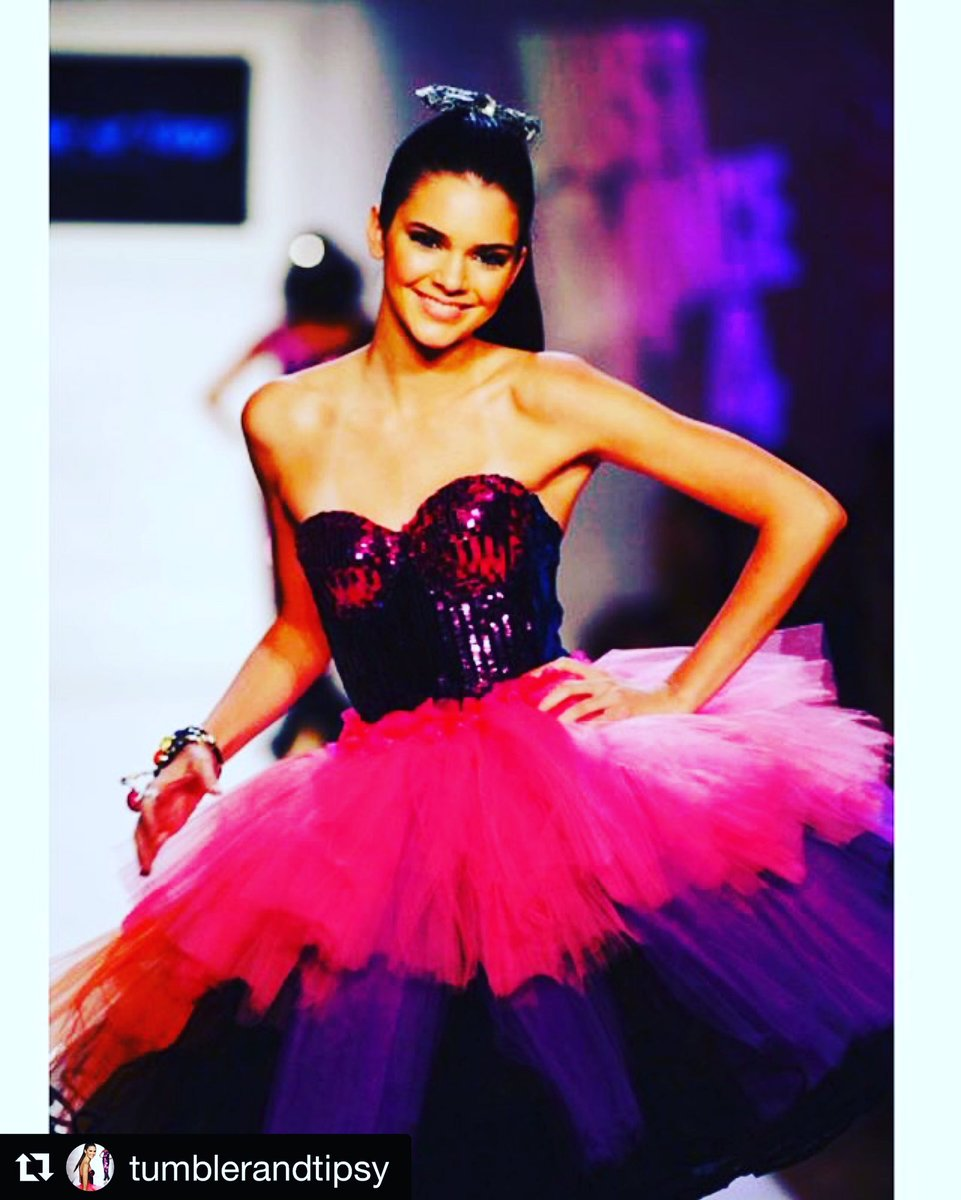 Get ready #NYFW! Cheers! -T&T @KendallJenner @MichaelKuluva #fashionweek #kutk #kendalljenner #tutu #dress #gown #mk https://t.co/HatCHMubqU