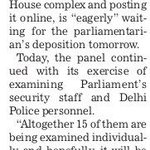 AAPInNews: RT AAPInNewsPB: AAP MP to depose before parliamentary panel ends today https://t.co/9ynhoFUbBJ