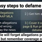 4 easy steps to defame AAP ! #ModijiArrestMeToo https://t.co/CnEDMIulIx