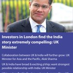 Investors in London find the India story extremely compelling: UK Minister https://t.co/UV7aNeaGNO via NMApp https://t.co/4XELmBlwQM